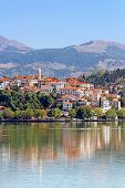 City Kastoria And Lake Orestiada, Greece