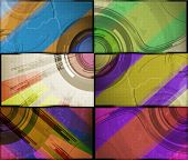 set for abstract  background