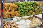 Vietnamese banana and tapioca desser