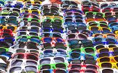 Colorful glasses for Sun