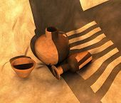 Pots Illustration
