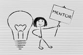 Girl With Ideas And Knowledge: Mentor
