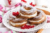 foto of cream puff  - Cream puff rings  - JPG