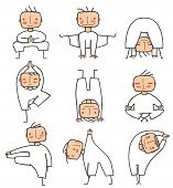 Comic Yoga Man Collection