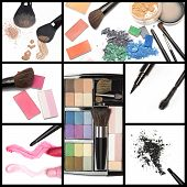 picture of blush  - Collection of makeup cosmetics - JPG