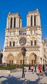 Notre Dame Cathedral, Paris, France.