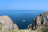 Pleasure Craft In Lake Baikal