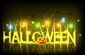 Vector modern halloween background.