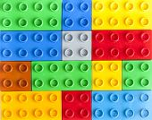 Lego Colorful Plastic Blocks Background