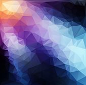 Vivid Polygonal Mosaic Background, Vector Illustration,  Business Design Templates