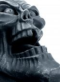 stock photo of hayride  - Gargoyle face - JPG