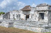 Maya Ruins In Tulum
