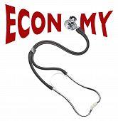 Verificação de saúde da economia