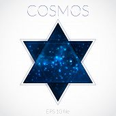 Galaxy into hexagram