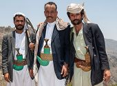 Armed Men In Yemen
