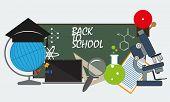 back to school. vector format