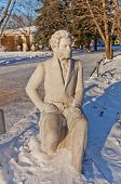 Monument To Alexander Pushkin. Moscow, Russia