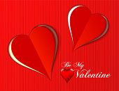 Valentine love hearts for any occasion as vector format, holidays season illustration