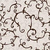 Beautiful retro vector pattern