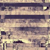 Grunge stained texture, distressed background with space for text or image. With different color patterns: yellow (beige); blue; gray; purple (violet)