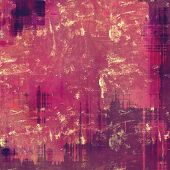 Antique grunge background with space for text or image. With different color patterns: brown; purple (violet); pink