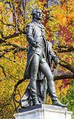 General Lafayette Statue Lafayette Park Autumn Washington Dc
