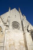 Niort ancient gothic church, Aquitaine, France