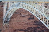 Glen Canyon Bridge near Glen Canyon Dam in Page Arizona