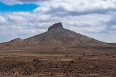 Desert Arid Landscape In Sal Island Cape Verde - Cabo Verde