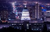 picture of capitol building  - Utah Capitol Building in Salt Lake City - JPG