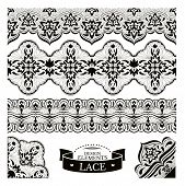 Set Of Lace Patterns