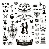 Wedding Icons And Elements