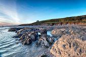 Wembury Beach In Devon