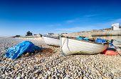 Fishing Boats At Chesil Cove