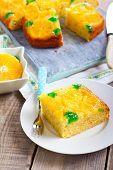 Cherry Dots Orange Upside Down Cake