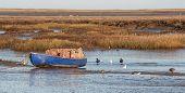 Norfolk Fishing Boat