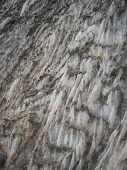 picture of crystal salt  - Natural salt crystals in nature salt mountain Cardona Catalonia Spain - JPG
