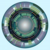 Abstract Circles, Vector Illustration