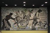 Naples Subway, Toledo Station Mosaic Art