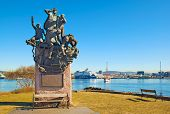 Oslo. Norway. Monument to the sailors