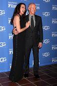 SANTA BARBARA - JAN 31:  Andie MacDowell, Michael Keaton at the Santa Barbara International Film Festival - Modern Master at a Arlington Theater on January 31, 2015 in Santa Barbara, CA
