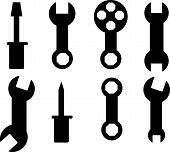 Tool icon vector