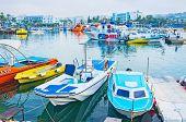 The Harbor Of Ayia Napa