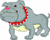 english bulldog cartoon