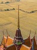 Decoration On The Rooftop Of Thai Temple