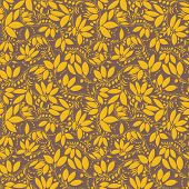 stock photo of barberry  - barberry seamless pattern - JPG