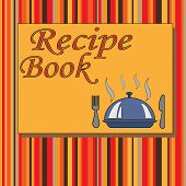 Cook Book Design,vector Illustration