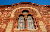 Beautiful Windows Of Old Synagogue In Uzhgorod, Zakarpattia,western Ukraine