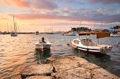 stock photo of piraeus  - Morning in Mikrolimano marina in Athens - JPG