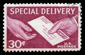 Postal Service For Special Delivery Of Letters